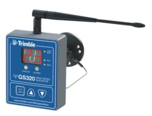 LSI Trimble GS320 Wind Speed Indicator by Skyazul